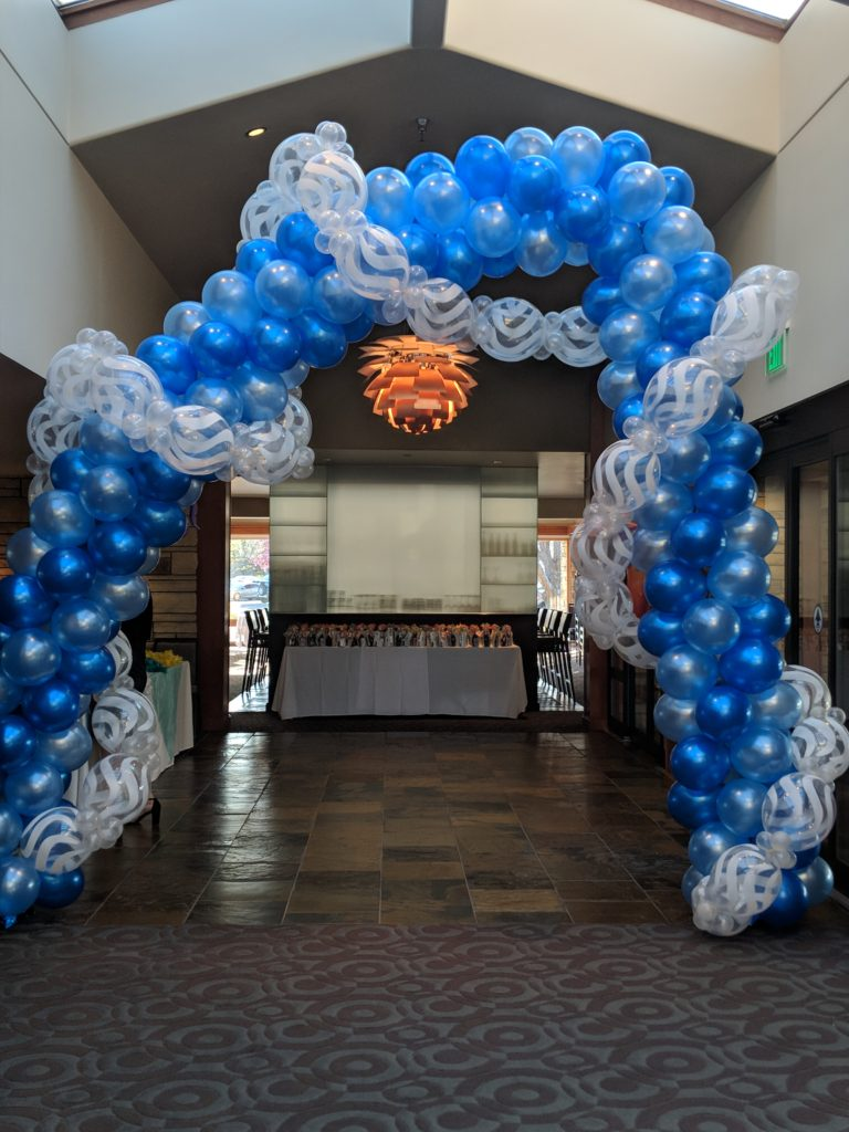 Under the Sea Arch for the Make A Wish Foundation Prom