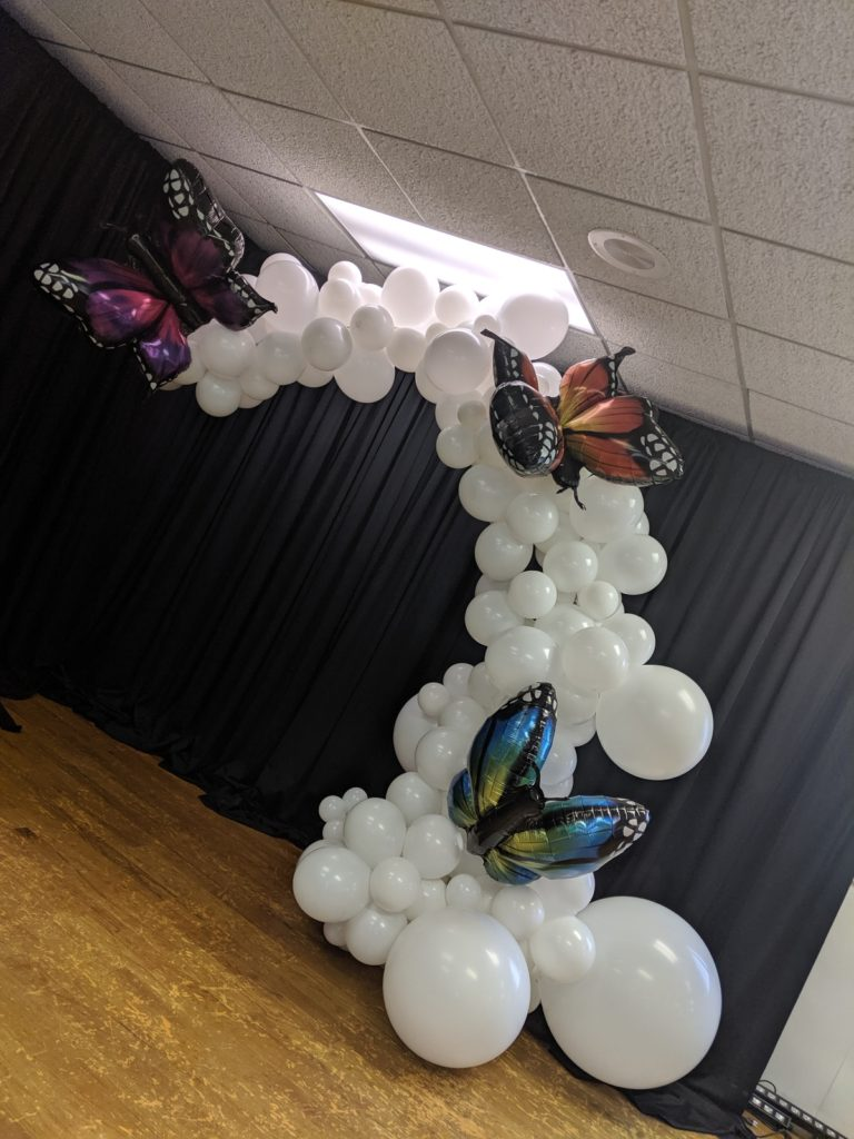 balloon butterfly 2